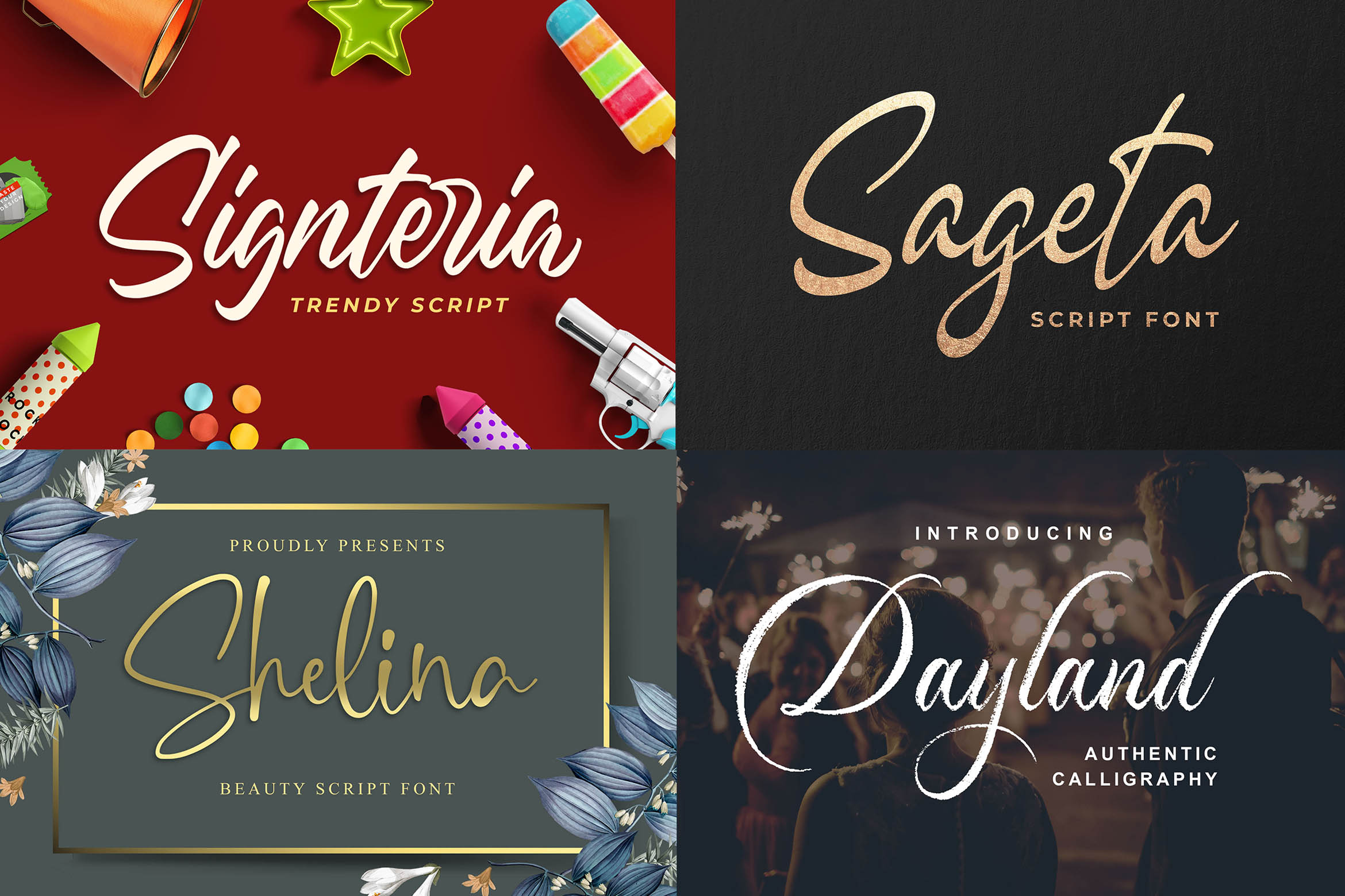 New Year Big Bundle - Crafting Fonts Collection example image 4