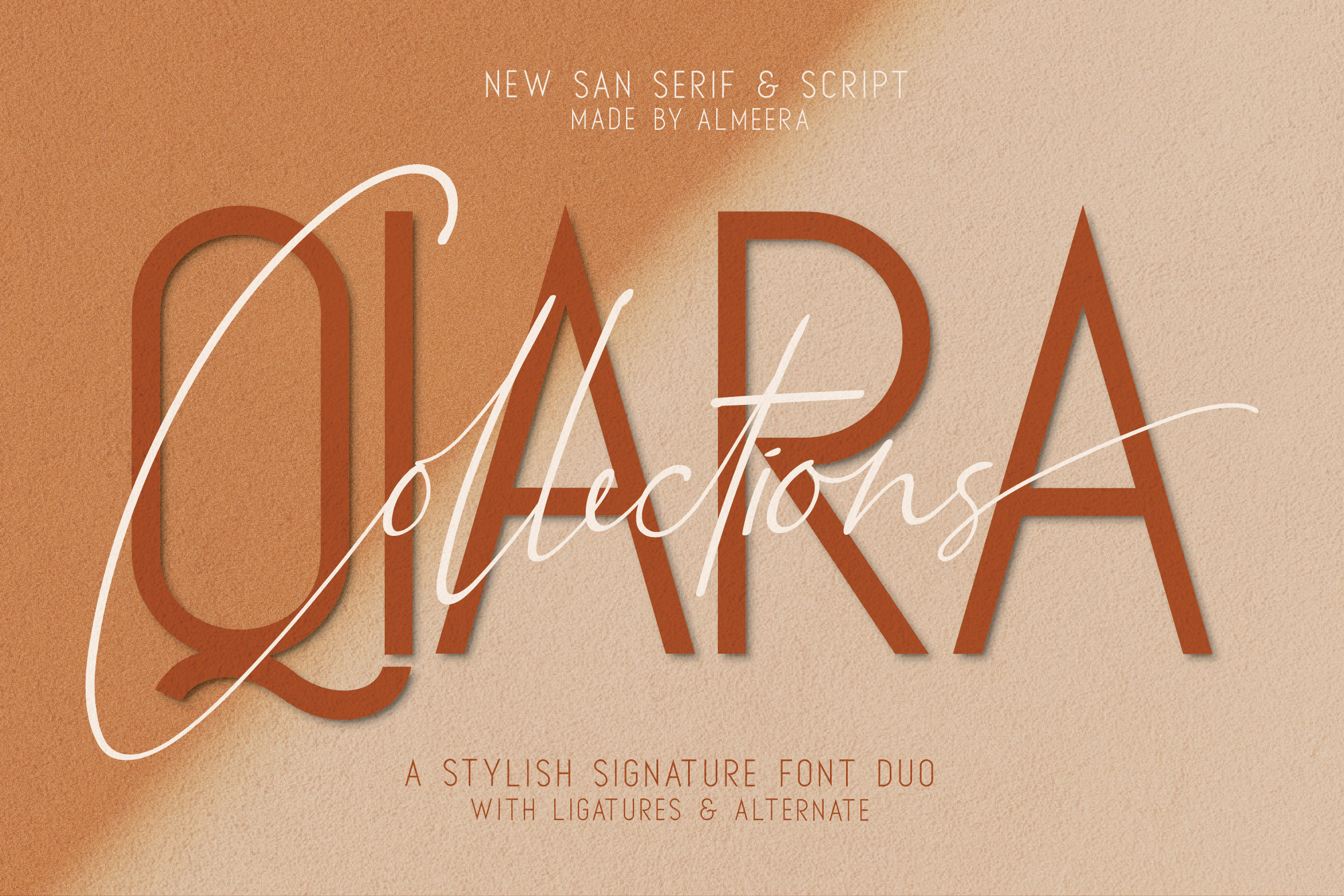 Qiara Collections Font Duo example image 1