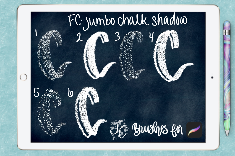 FC-chalk-set 4for PROCREATE example image 6