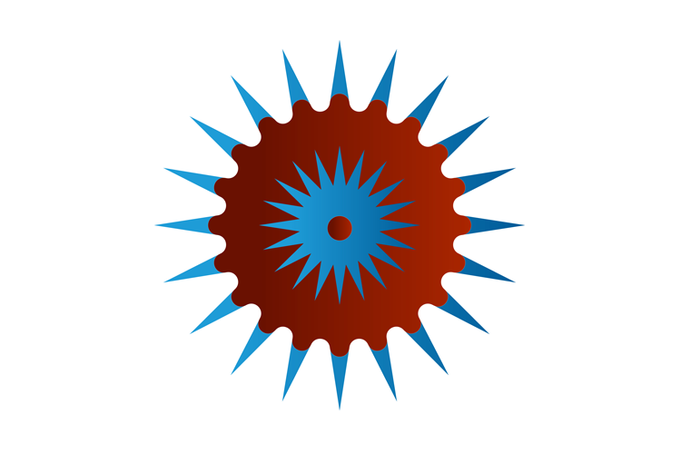 Abstract Star Icon Template example image 1
