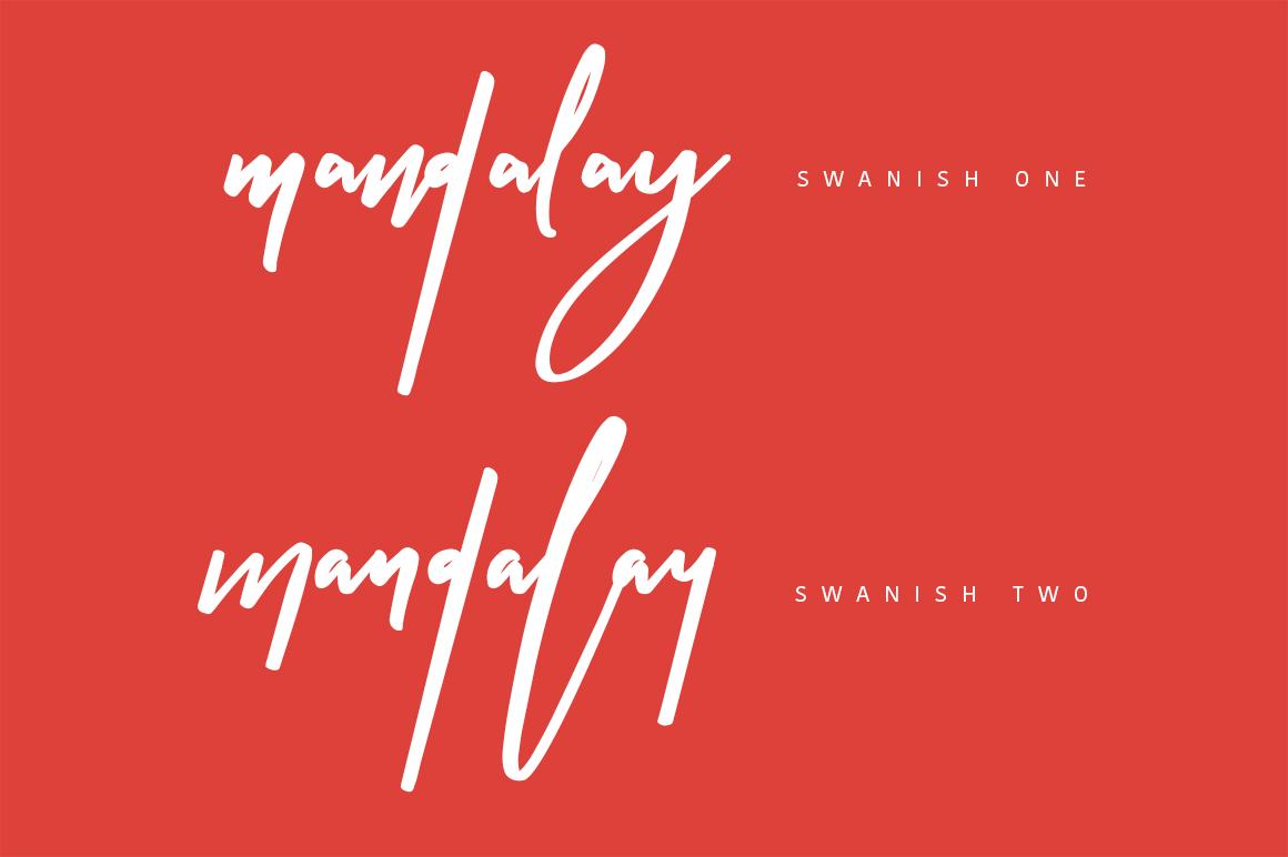 Swanish Typeface example image 5