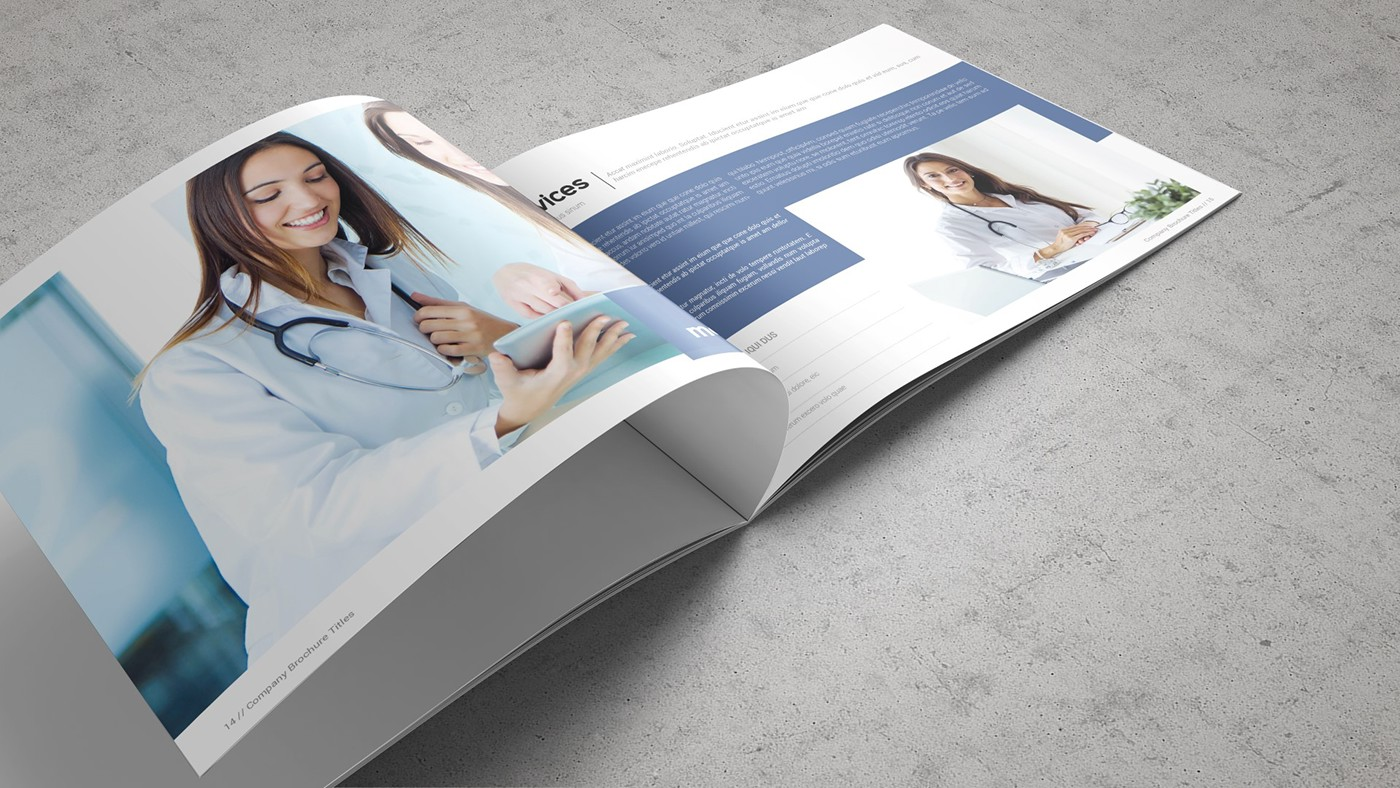 Health & Care Brochure Template example image 18