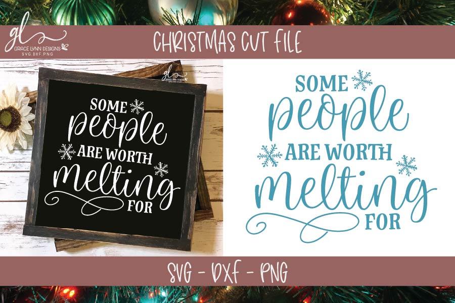 Huge Christmas Bundle - SVG, DXF & PNG - 25 Designs example image 6