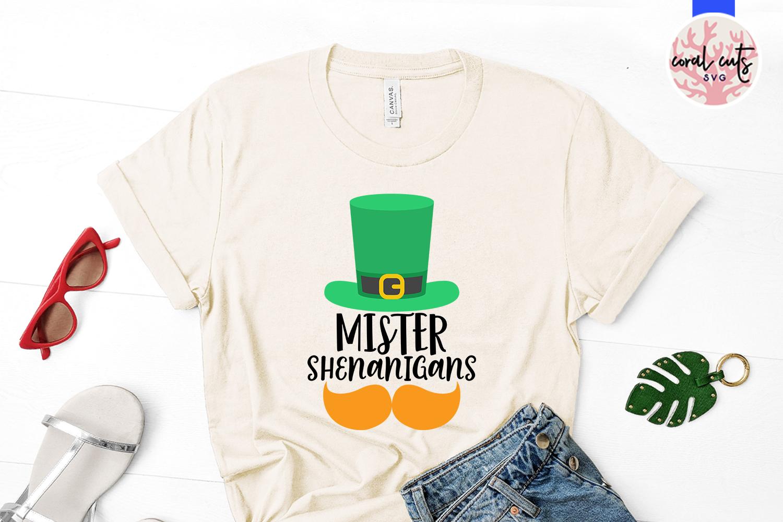 Mister shenanigans - St. Patrick's Day SVG EPS DXF PNG example image 2