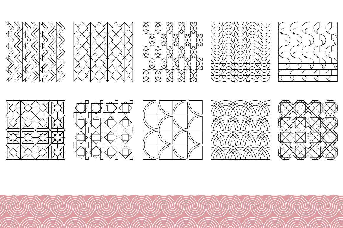 Line patterns example image 6