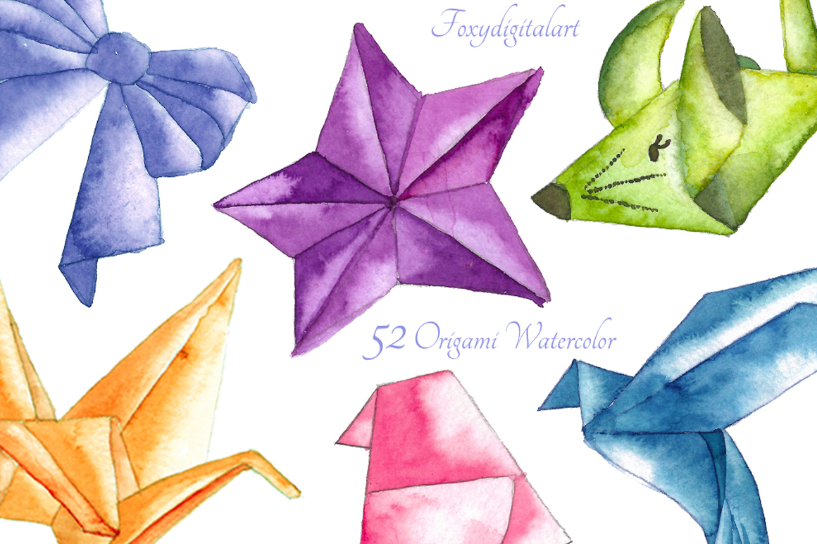 origami clipart example image 1