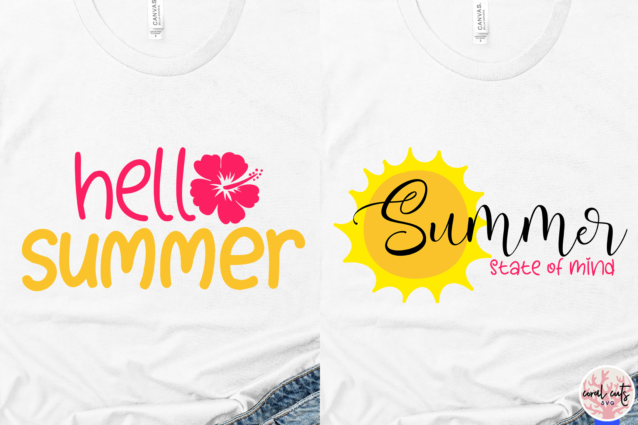 Summer Vacation Bundles - 10 Svg EPS DXF PNG Cut File example image 4