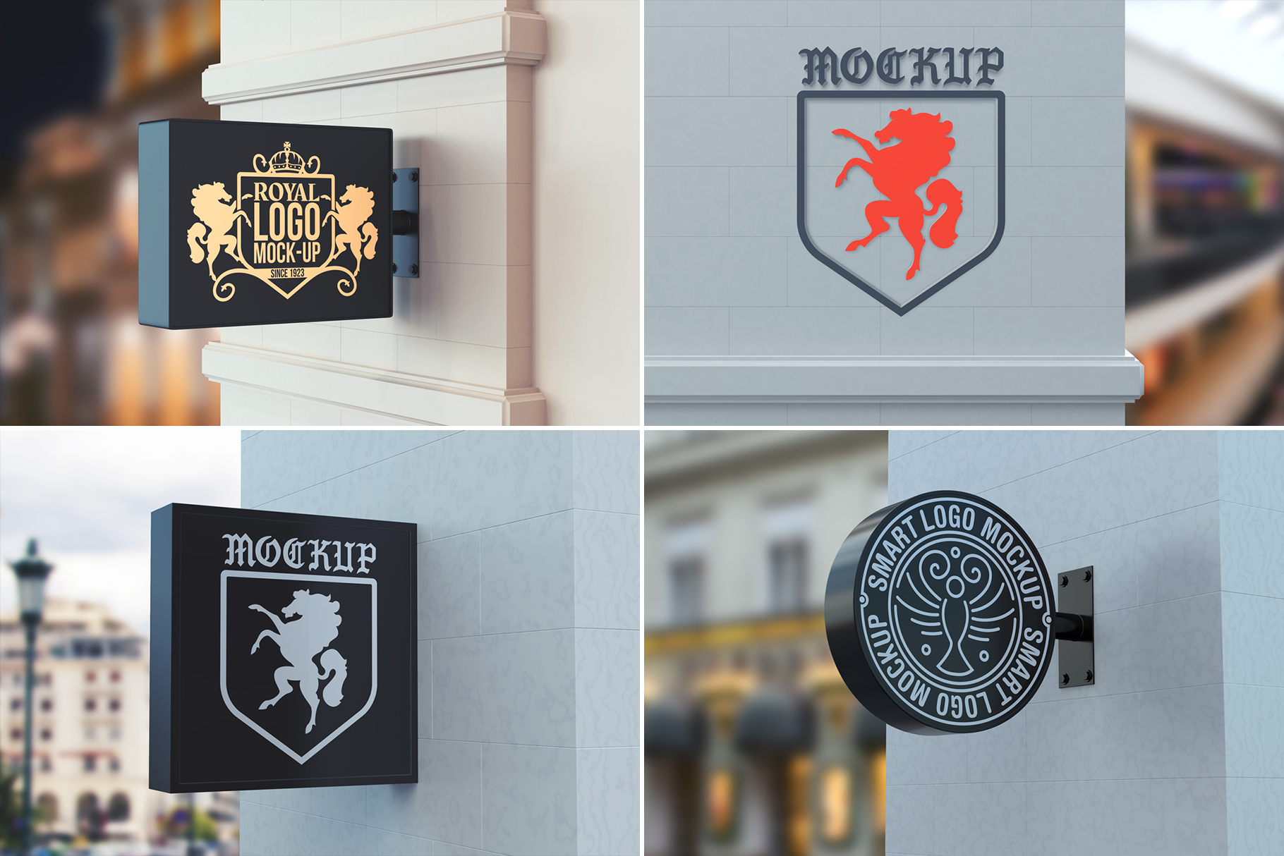 100 Logo Mockups Bundle Vol.3 example image 21