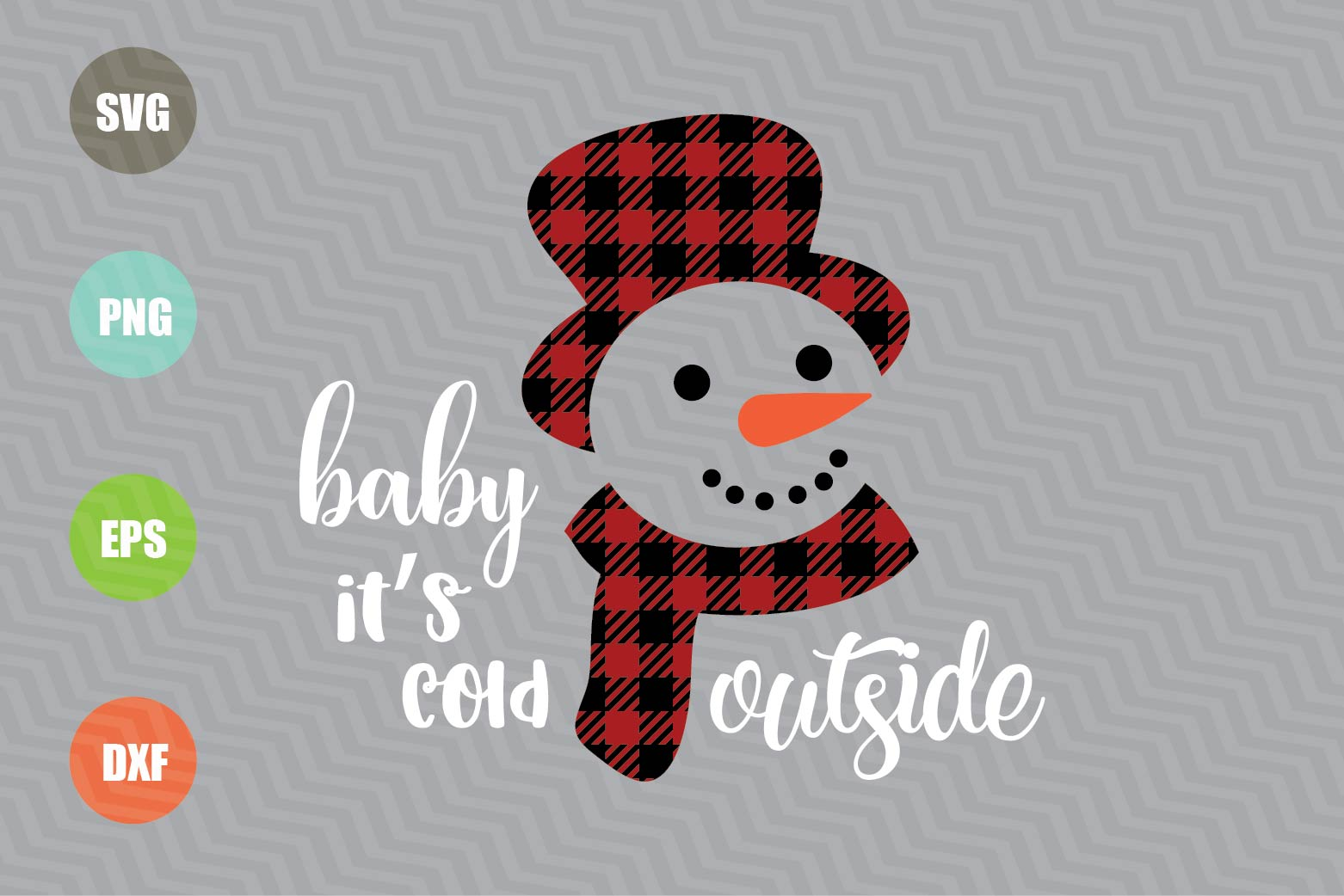 Baby It's Cold Outside SVG File example image 1