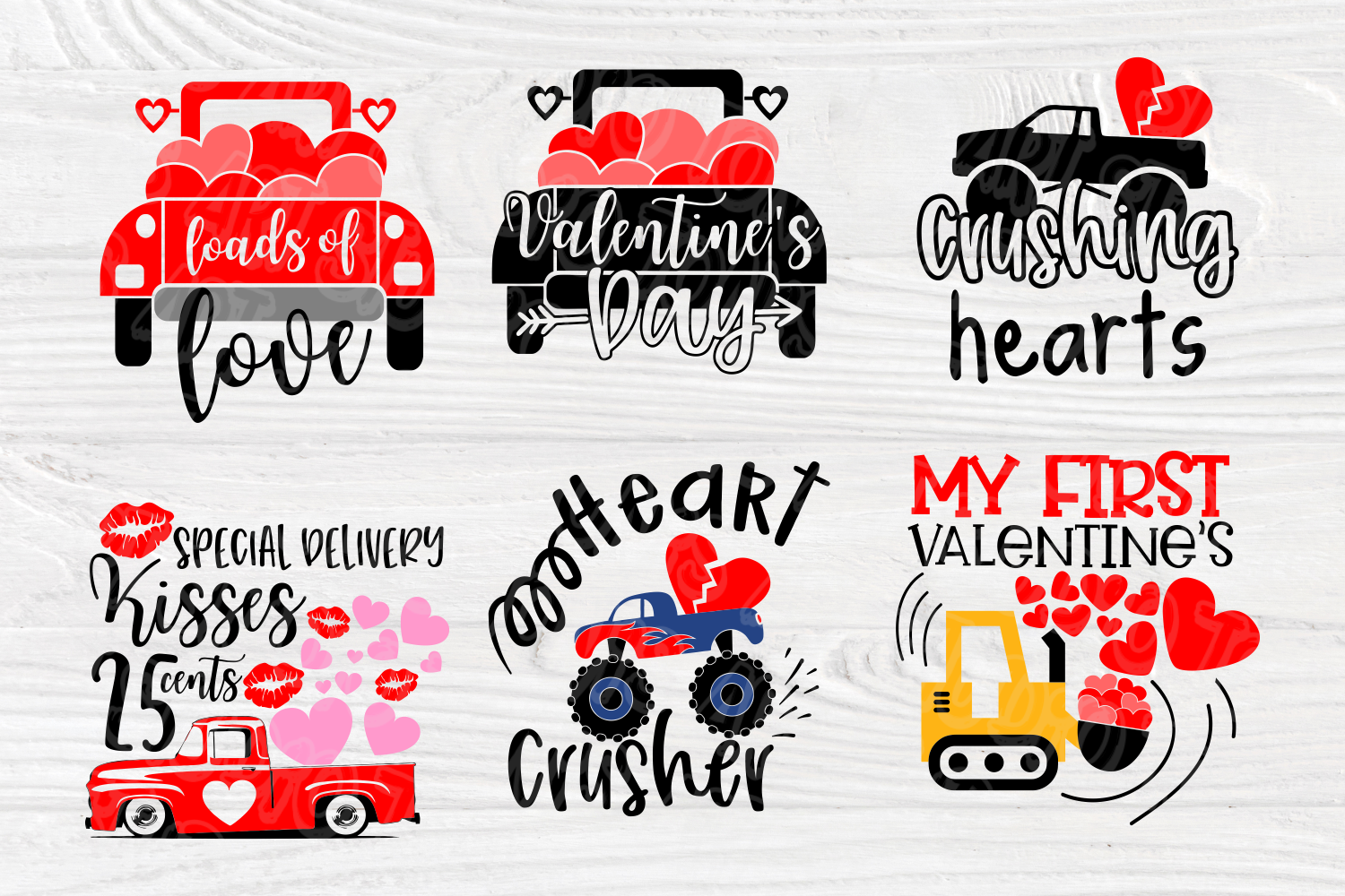 Love SVG Bundle | Valentine's Day | Cut Files for Crafters example image 5