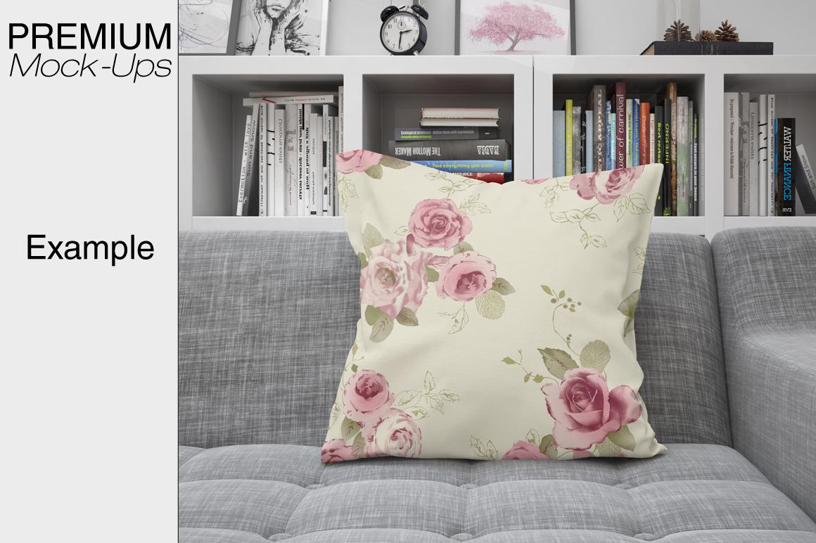 Pillows Mockup Set example image 3