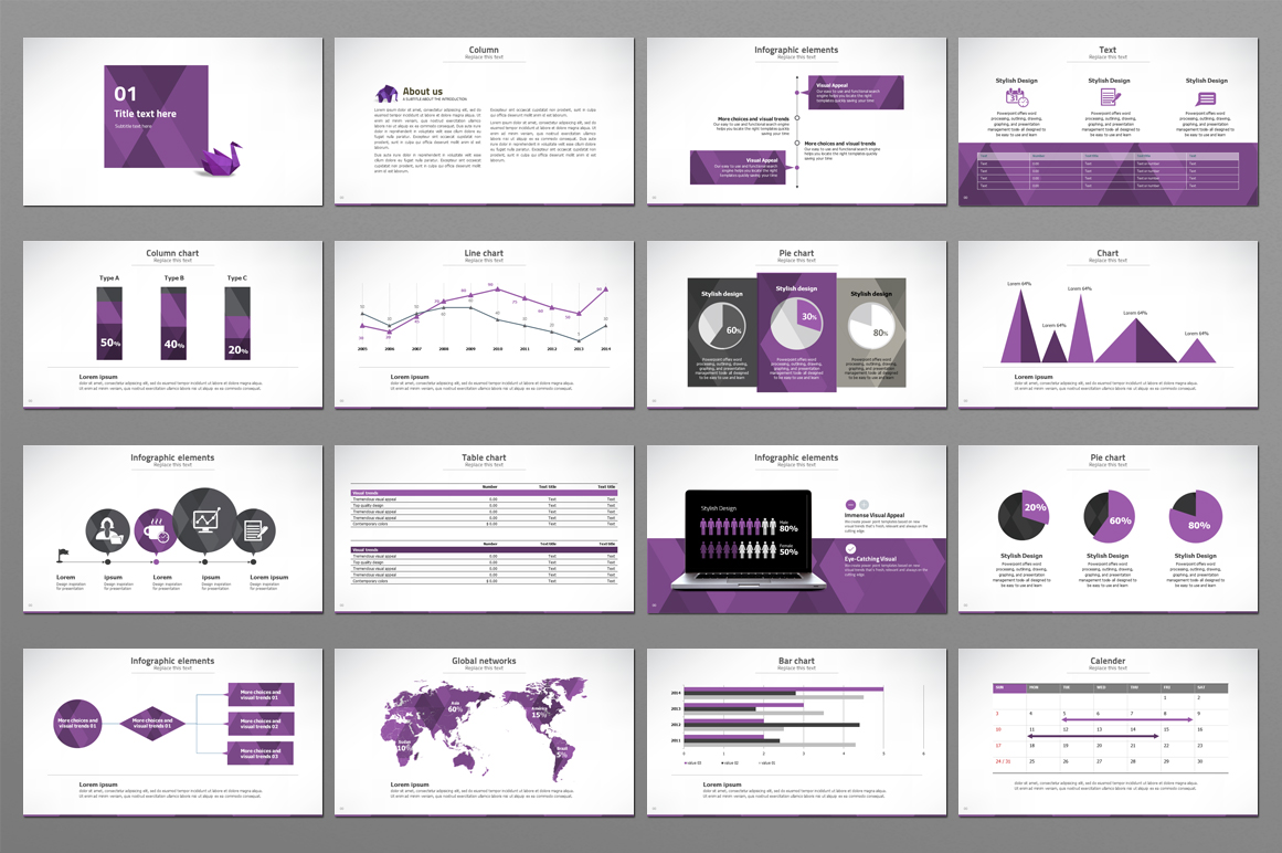 Modern Powerpoint Template example image 4