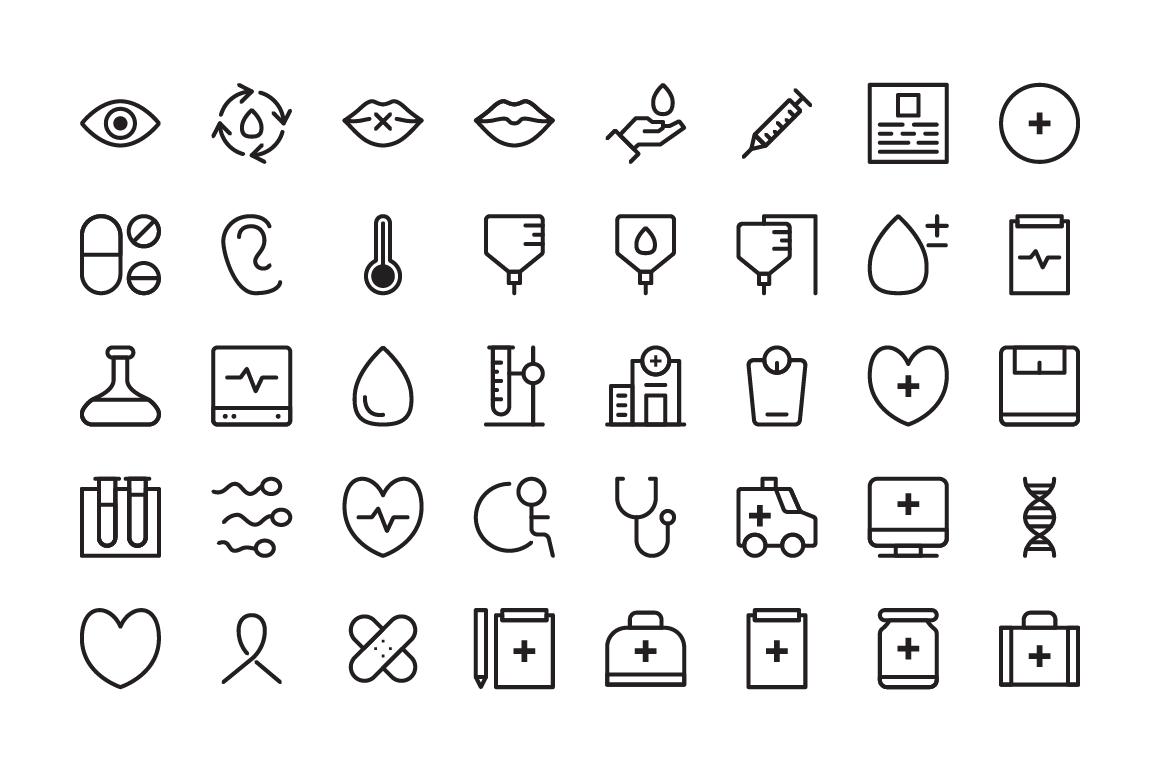 Whatsername Medical Icons example image 2