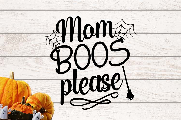 Mom boos please SVG example image 1