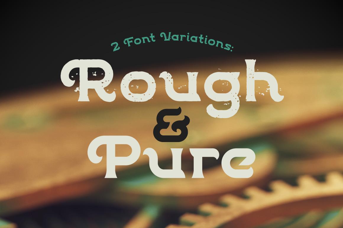 Patina font example image 2