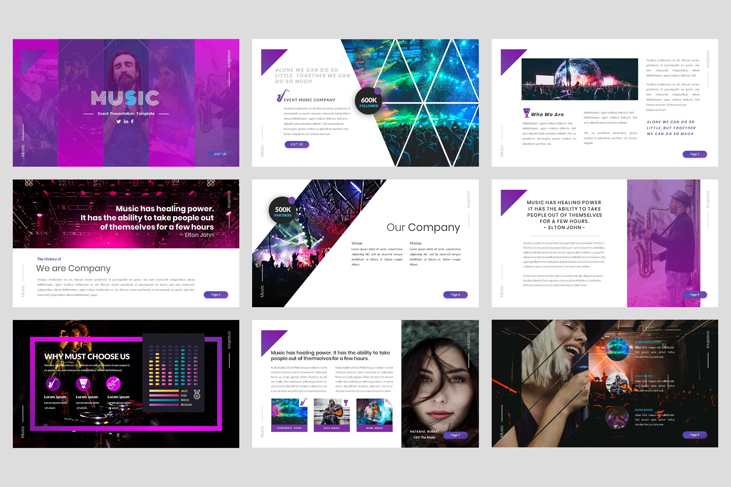 Music - Event Keynote Template example image 2