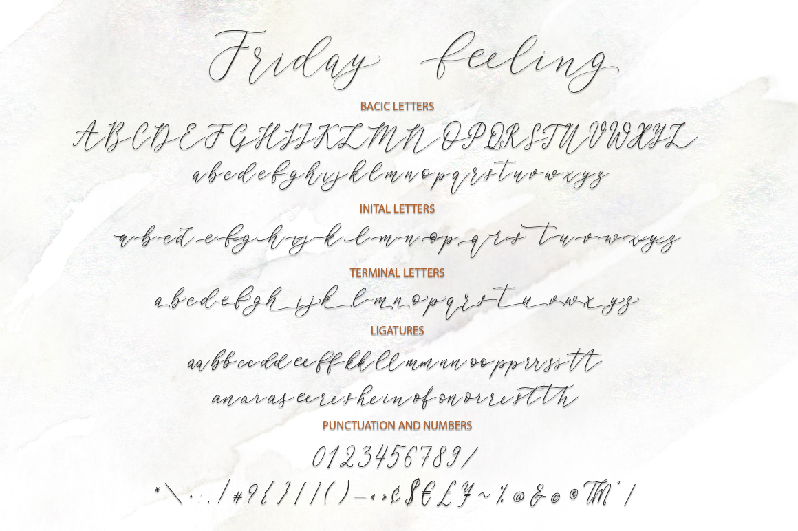 Friday feelings. Font duo. example image 11