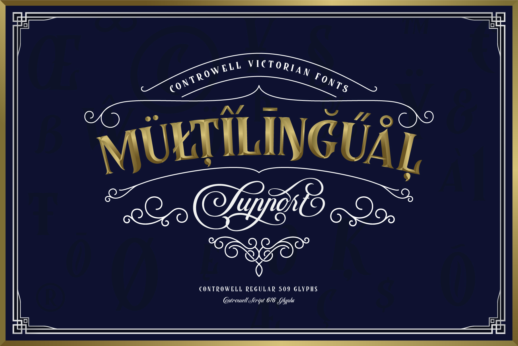 Controwell Victorian Typeface example image 10