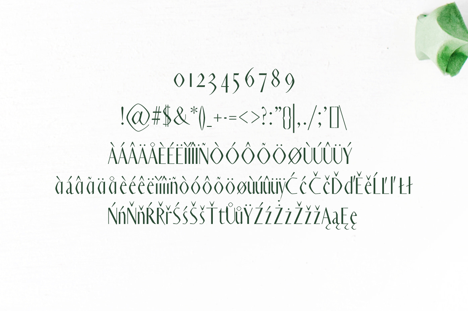 Ainsley Sans Serif Typeface example image 4