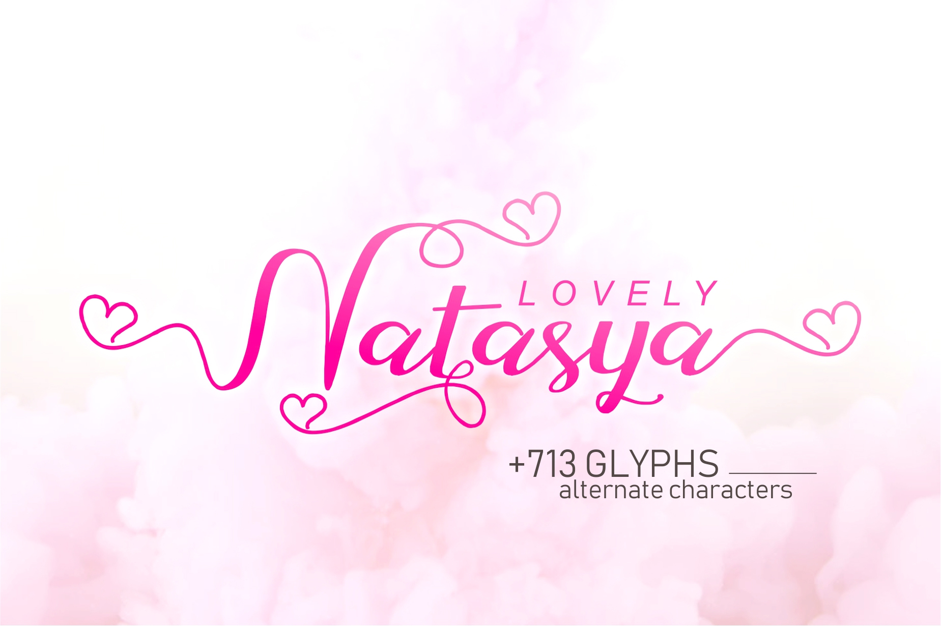 Lovely Natasya Script example image 1