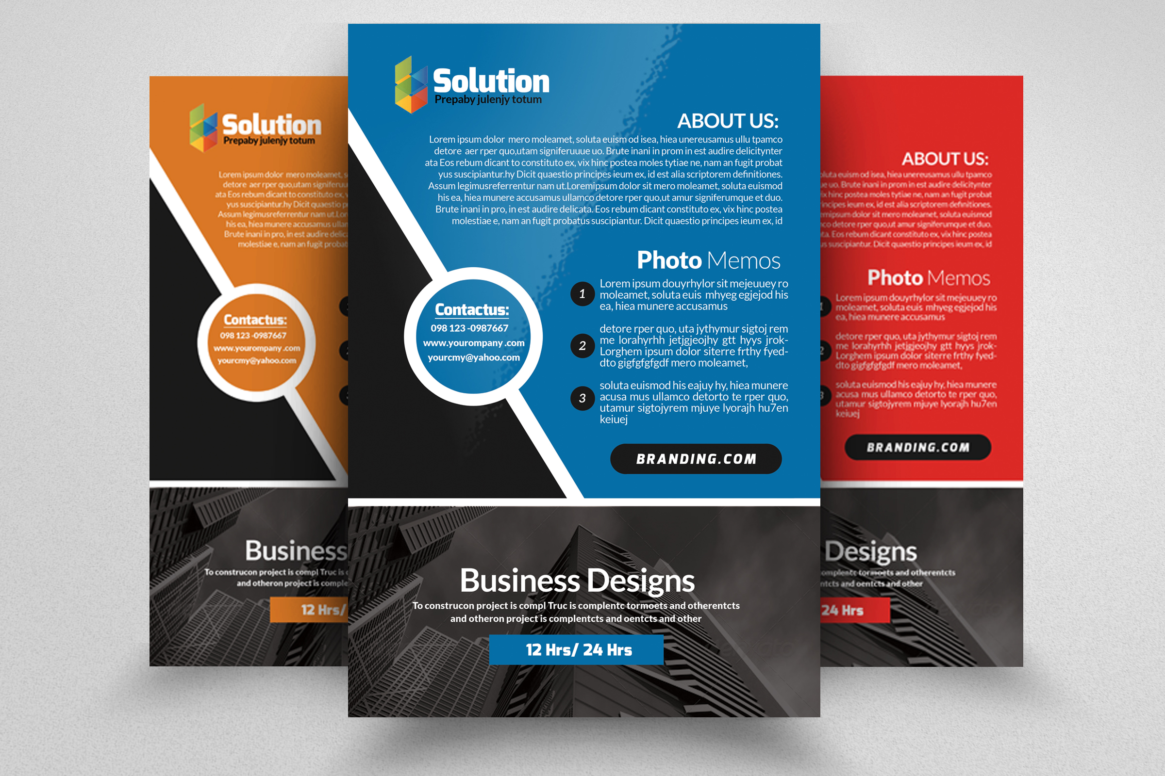 Small Business Consultant Flyer example image 1