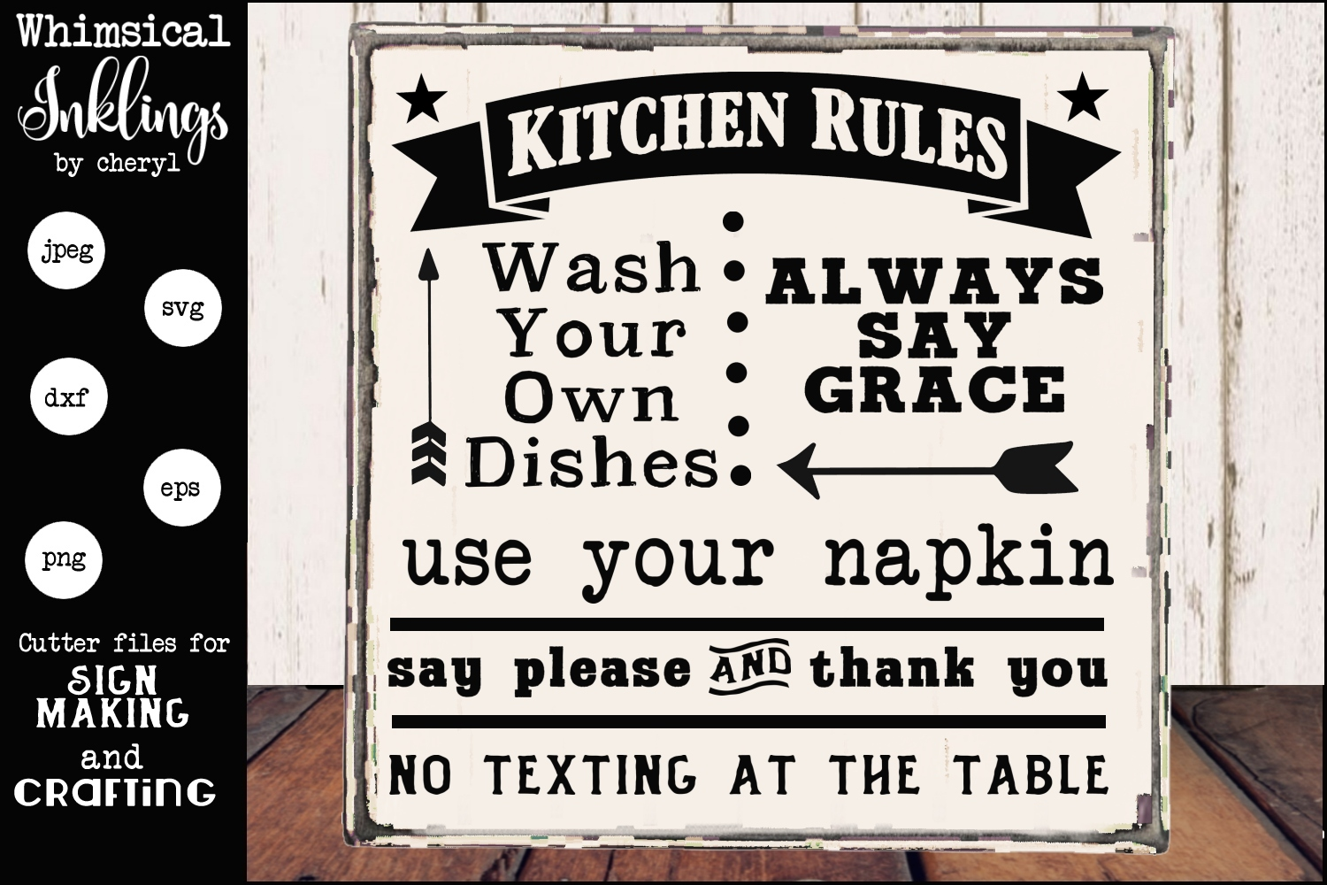 Kitchen rules two svg example image 1