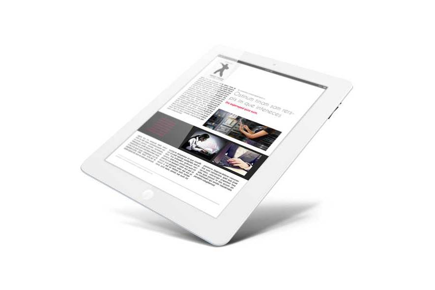 Business eMagazine Template example image 4
