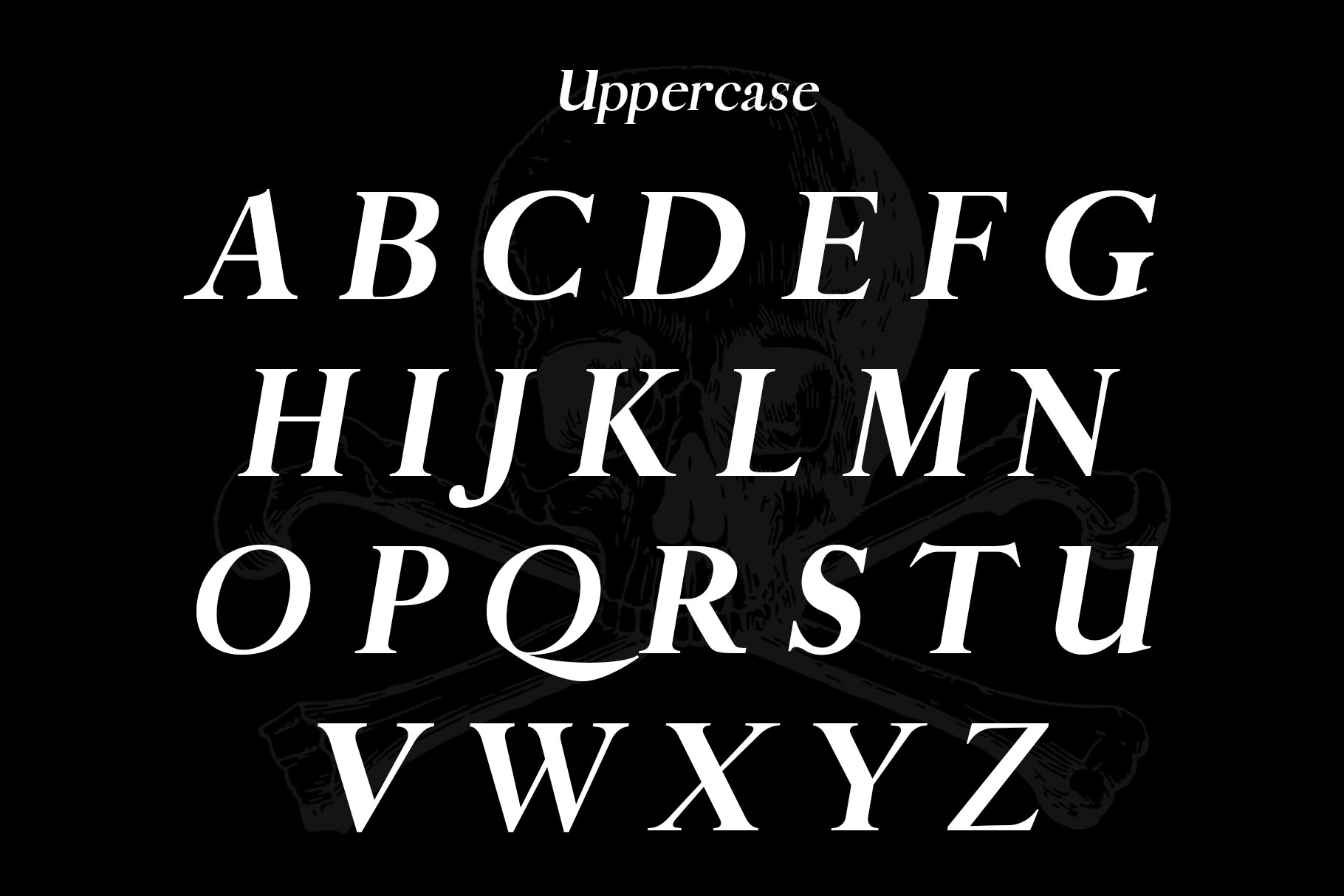Pirate Typeface example image 3