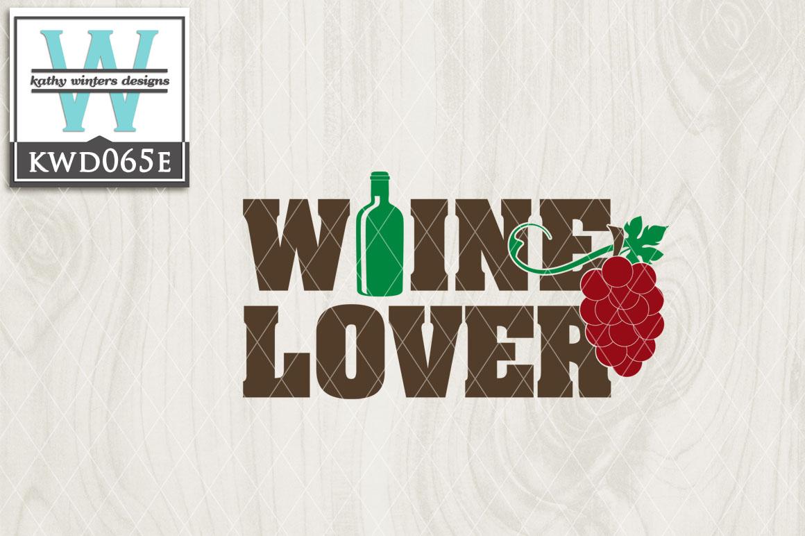 Wine Cutting File KWD065E example image 1