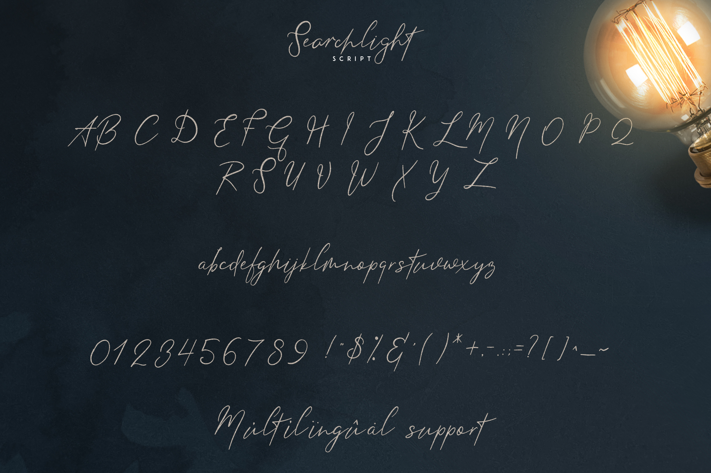 Searchlight - font trio example image 8