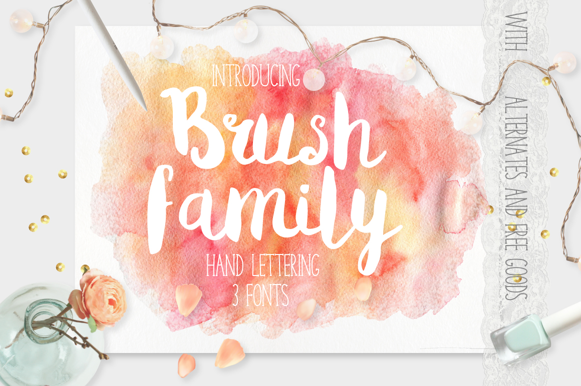 Brush Family example image 1