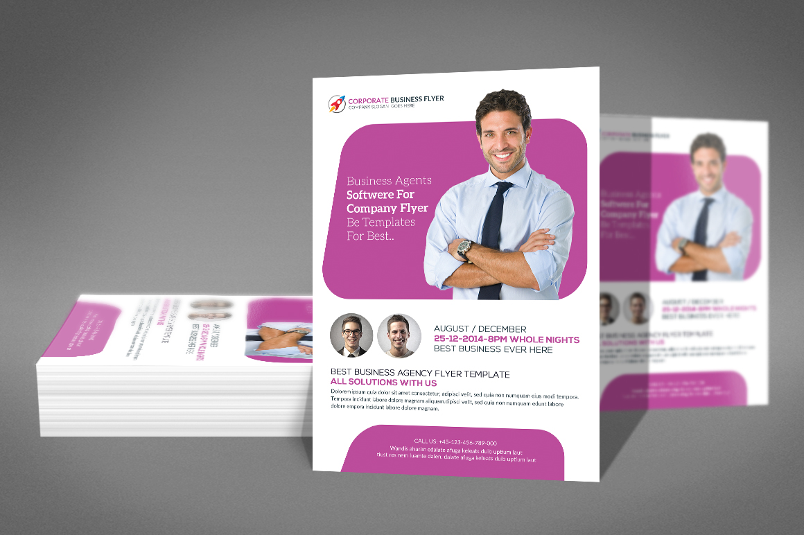 Transport business Flyer example image 2
