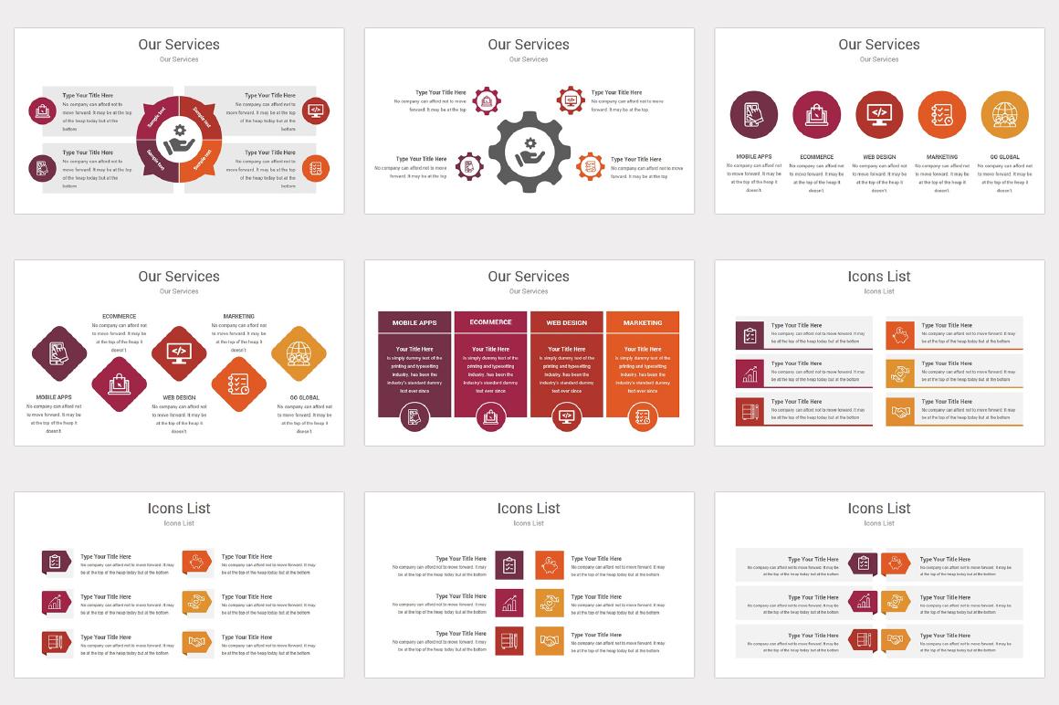 Varied multipurpose PowerPoint Presentation Template example image 8