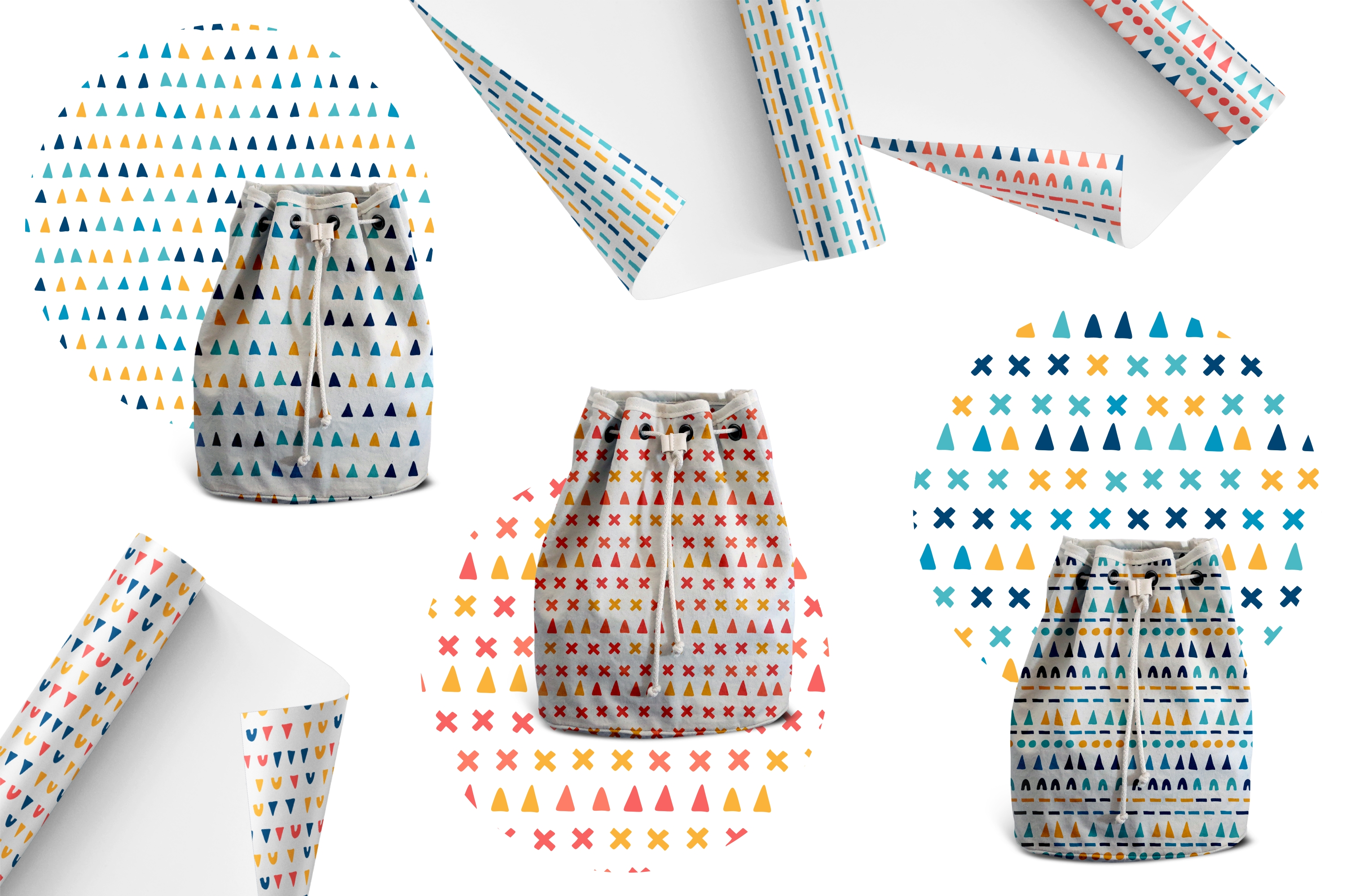 Playful pattern collection vol.1 example image 2