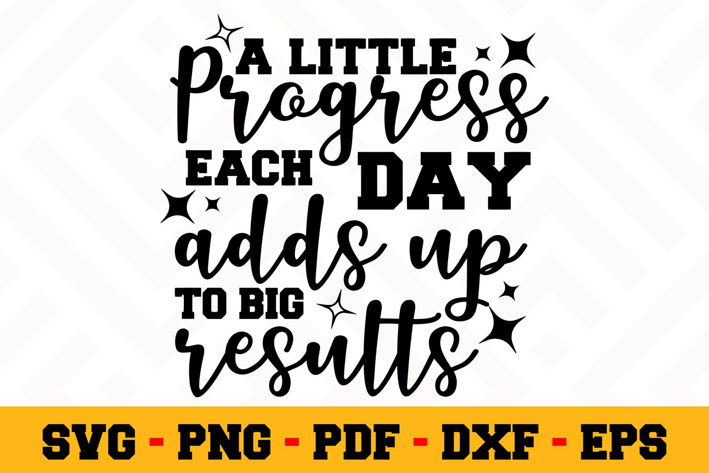 Motivation SVG Design n505 | Motivational Quote SVG File example image 1