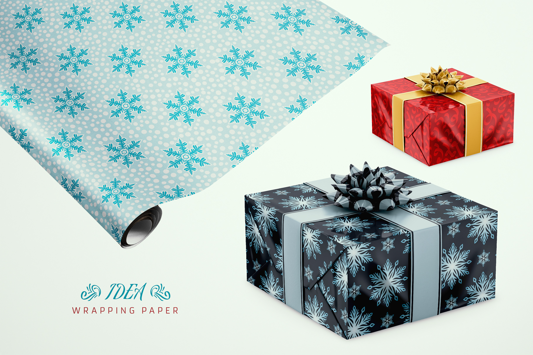 100 Seamless Patterns Vol.4 Christmas example image 20