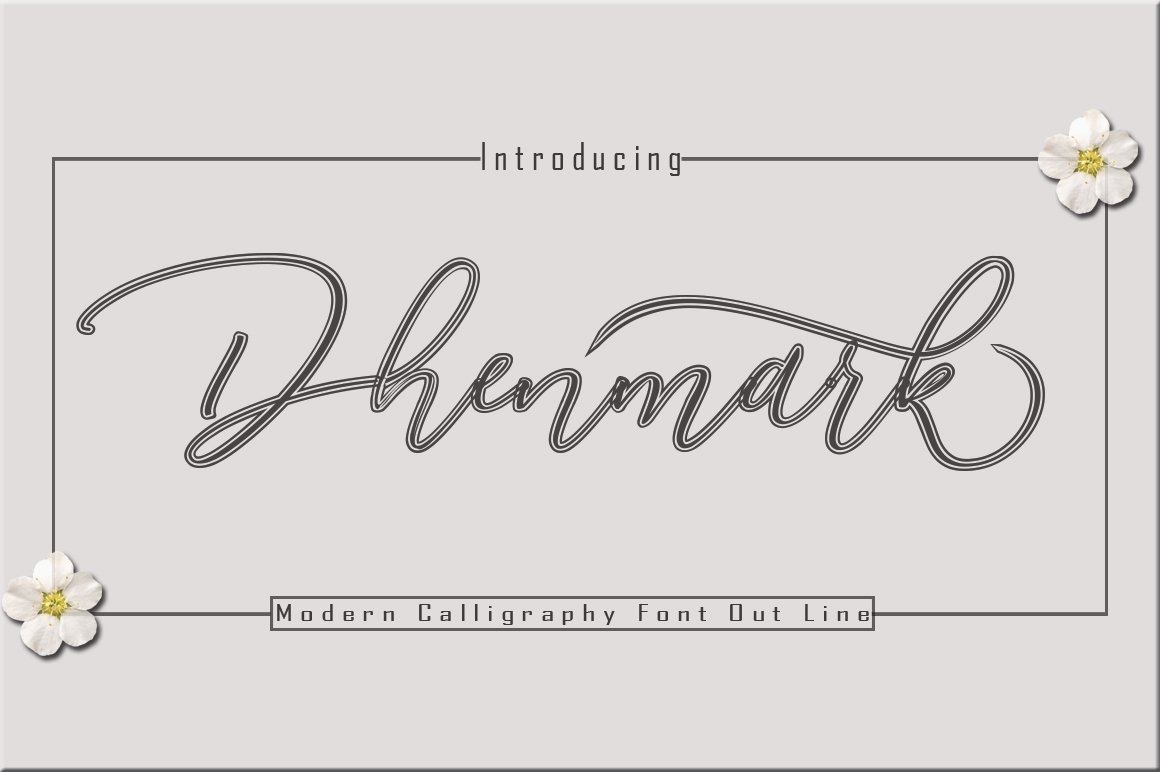 Dhenmark Font Duo example image 2