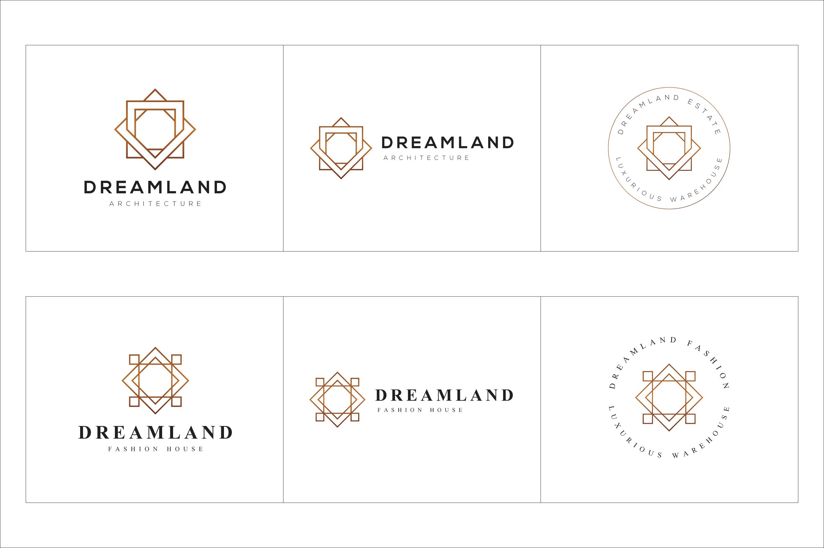 300 Geometric Premade Logo Bundle example image 14