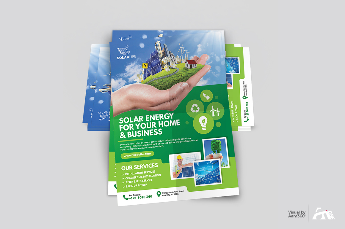 Green Energy Flyer example image 4