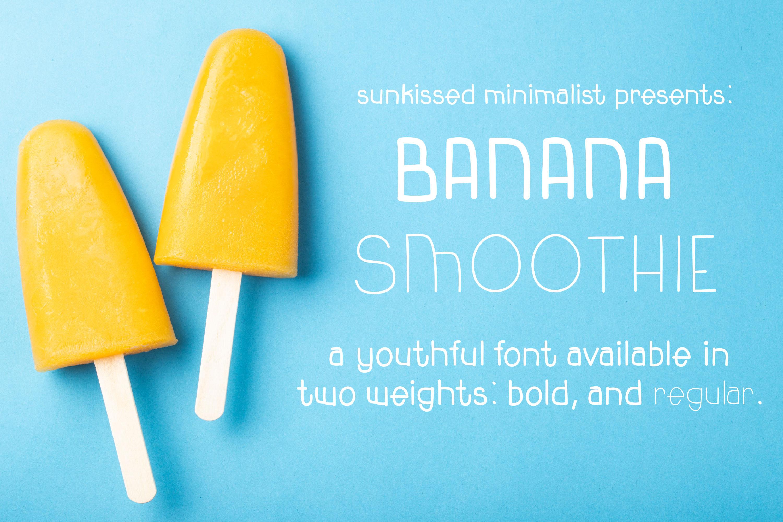 Banana Smoothie example image 1