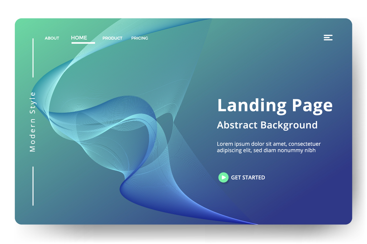 8 Abstract background design example image 7