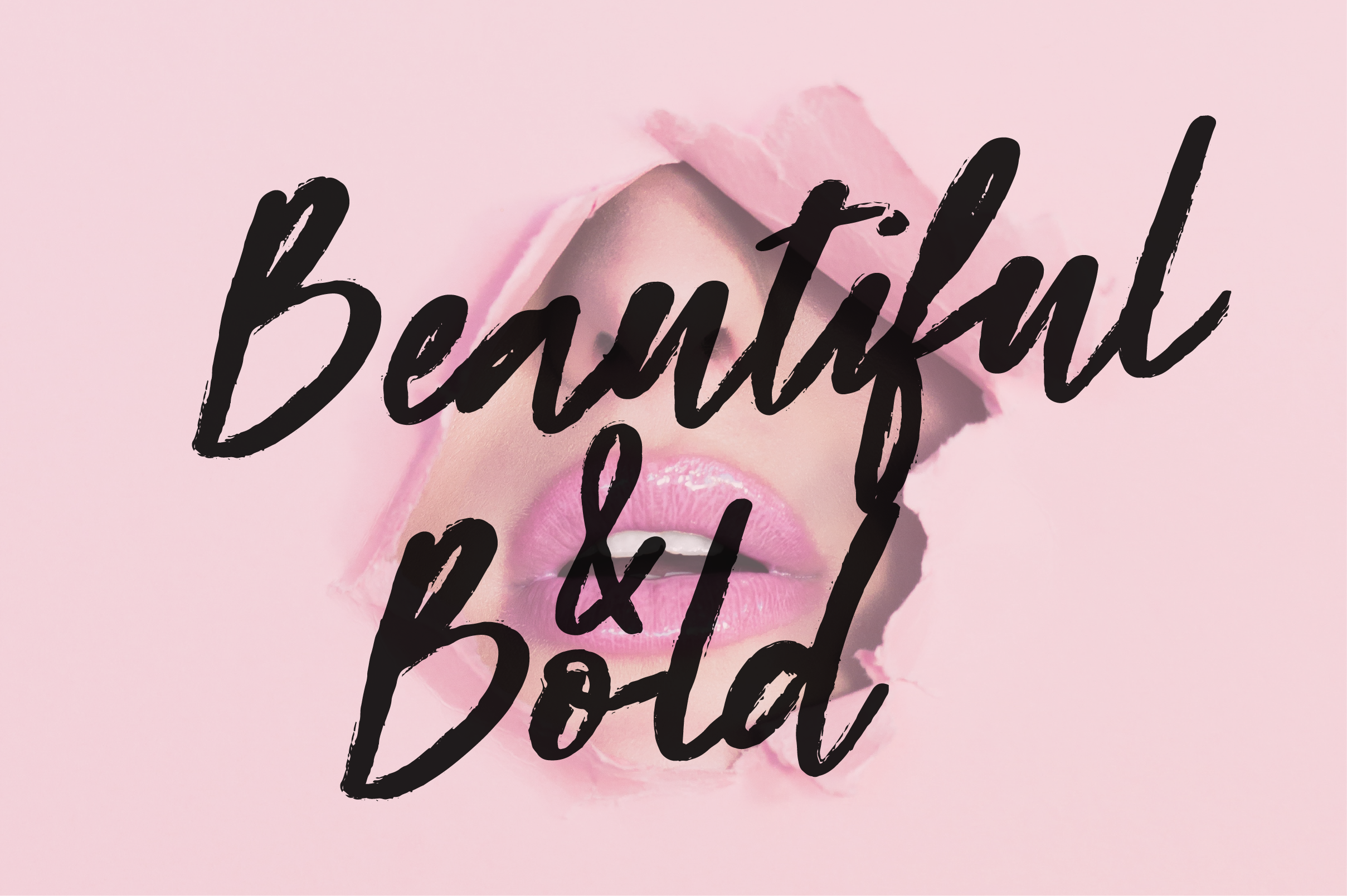Beauty Rush Font Set example image 8