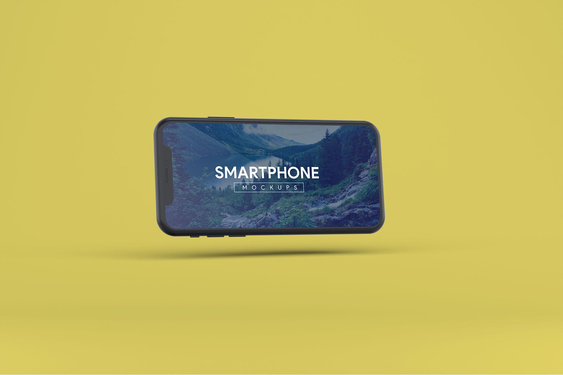 Smartphone Mock-Ups example image 13