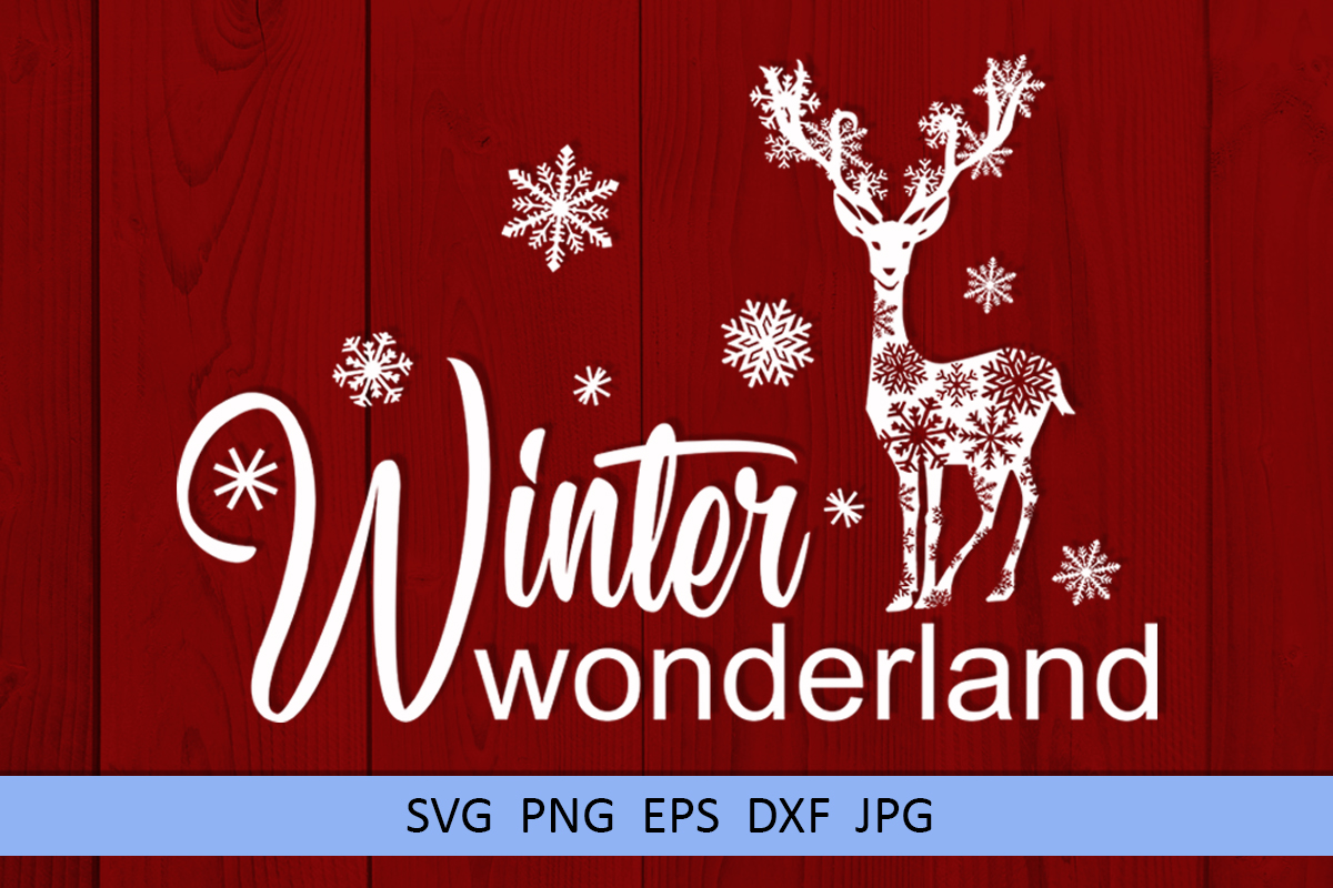 Christmas svg Winter wonderland svg Winter svg Snowflake svg example image 1