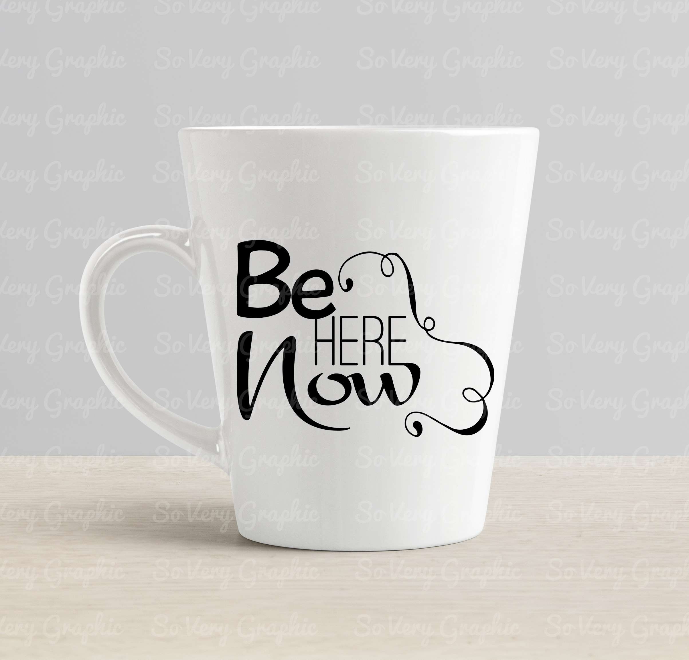 Be Here Now   Cutting & Printing File   SVG   PNG example image 2