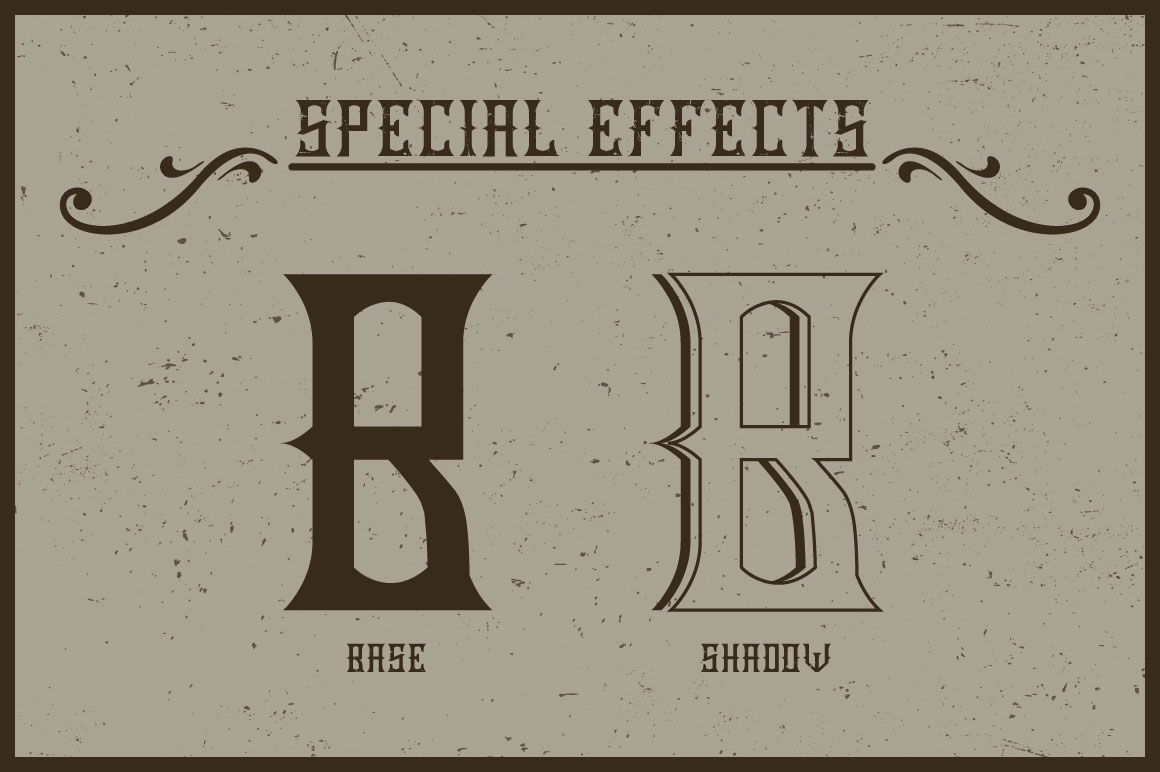 Handcrafted Old Cask label font example image 4