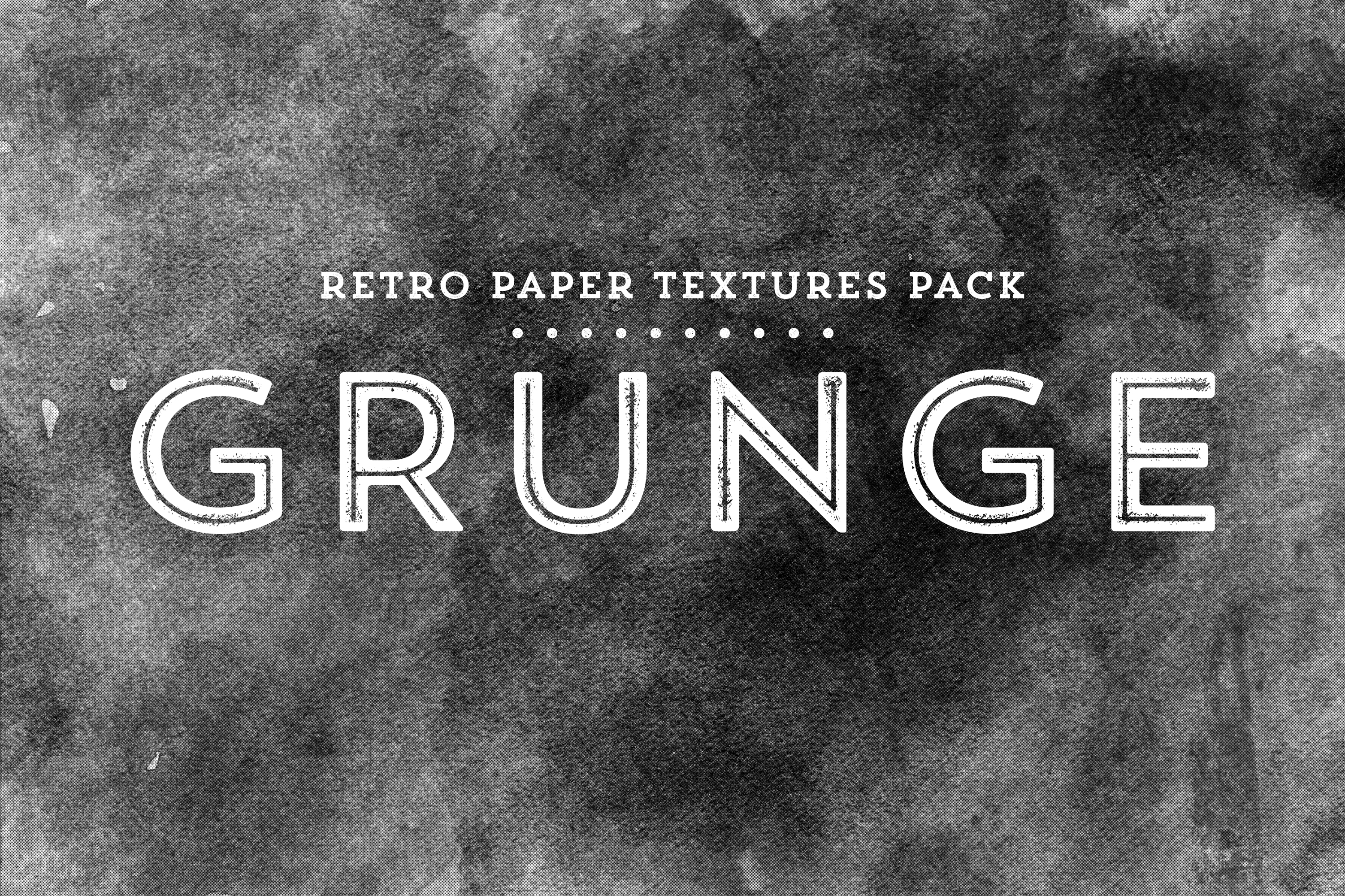 Grunge - Retro Paper Textures Pack example image 1