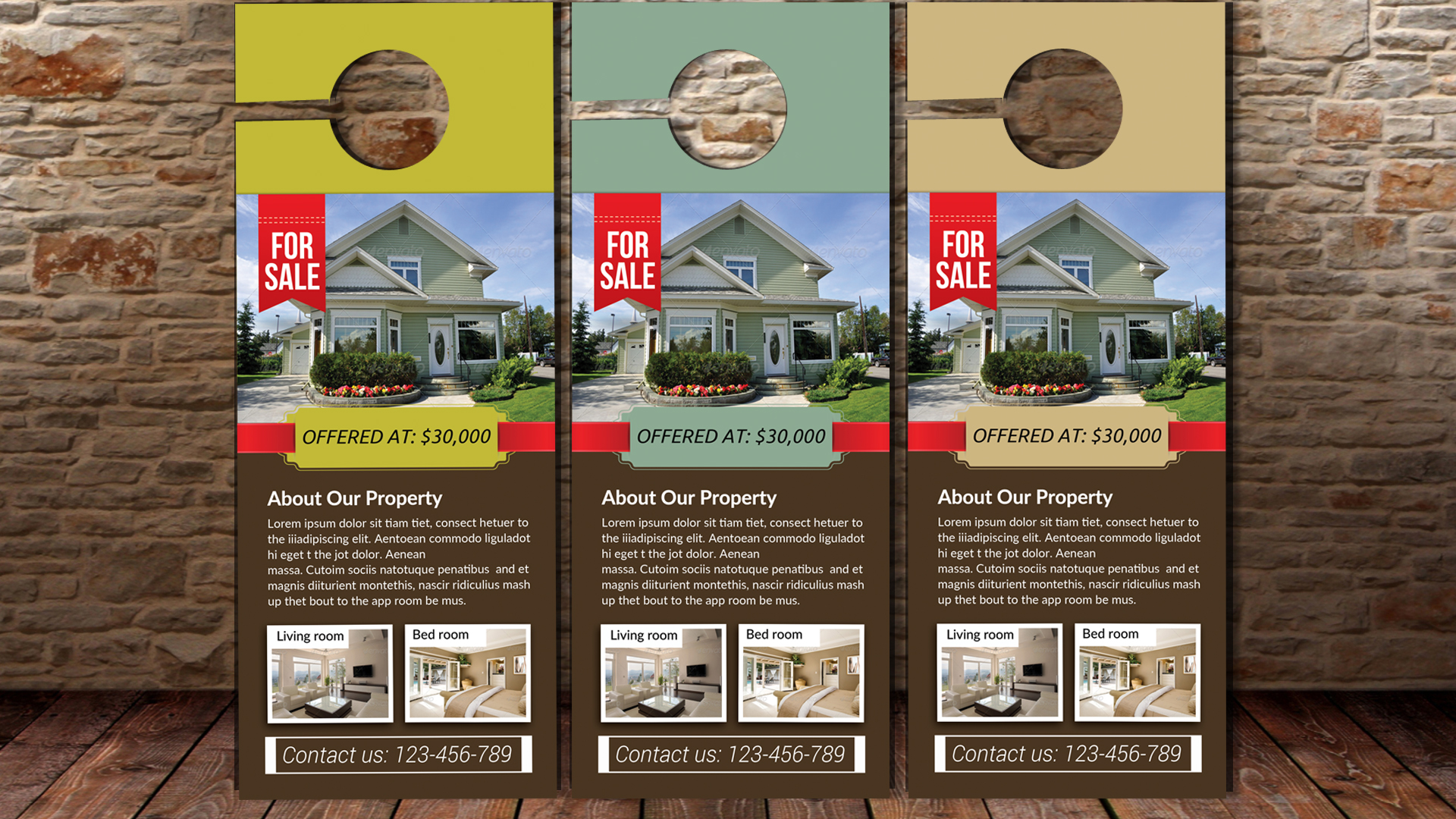 Real Estate Agent Door Hangers example image 2