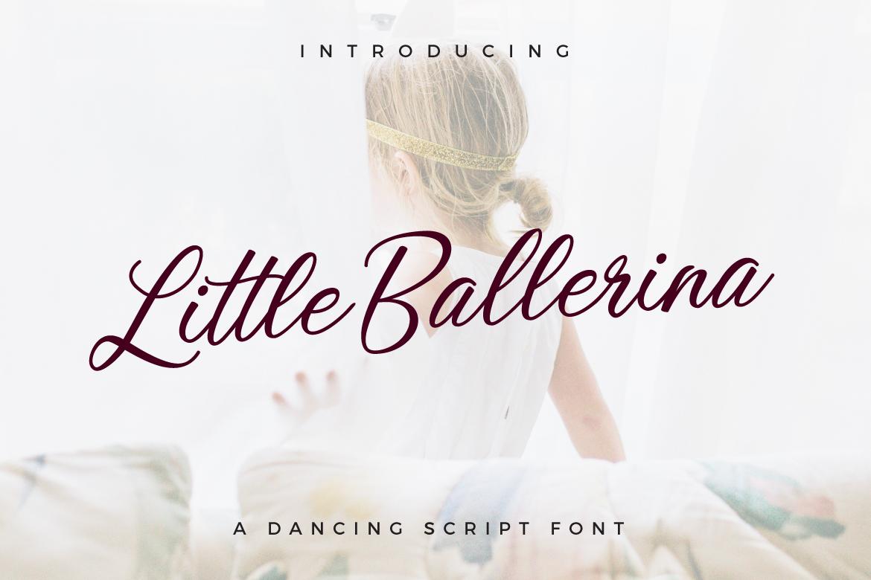 Little Ballerina example image 1