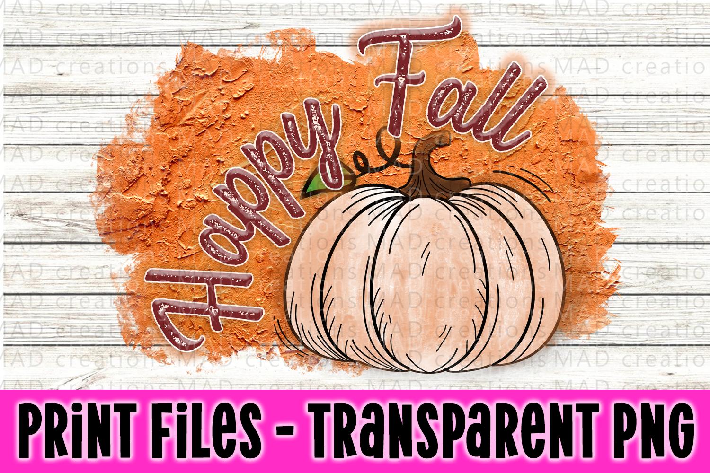 6 PNG Happy Fall Bundle - Pumpkin Bundle - Print File example image 6